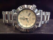 Croton Vortex Men's Automatic Watch W/ Pineapple Dial Rare CR8205