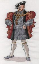 CL175 Henry VIII Cross Stitch Chart by Vanessa Wells from Goldleaf Needlework