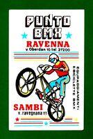ALTER AUFKLEBER ADESIVO STICKER PUNTO BMX RAVENNA ANNI'80 VINTAGE 11,5X7,5 cm