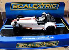 Scalextric Caterham r500 en blanc/rouge Art. c3093