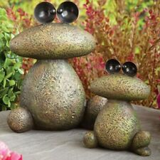 Garden Décor-Two Frogs Sculpture for Your Garden, Lawn or Patio - Durable, Weath