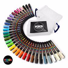 Uni Posca PC-3M Peinture Marqueur Art Stylos-Gamme Complète lot de 32 in (environ 81.28 cm) Posca Tub