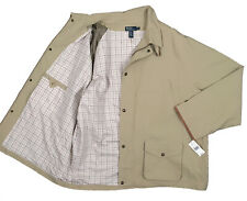 NEW $425 Polo Ralph Lauren Big & Tall Jacket!  4LT  Tan with Leather Trim