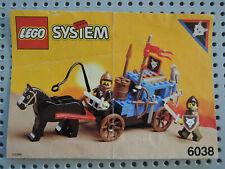Lego System 6038 Wolfpack Renegades Abtrünnige Kutsche kpl. + BA  + Figuren
