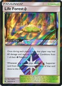 1x Pokemon TCG Lost Thunder - Life Forest Prism Star 180/214 NM/M