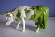 2002 Retired Cow Parade 7251 Clean Jean The Green Holstein Resin Figurine