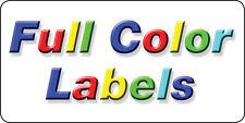 "500 Full Color Labels 4"" X 2"" matte finish"