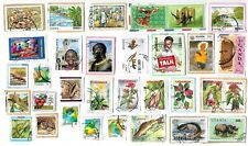 UGANDA - Selection of Stamps on Paper from kiloware