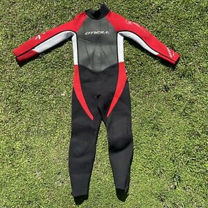 O'Neill Childs Full Wetsuit Kids Youth Size 6 Hammer 3/2 Surf Beachwear Skinsuit