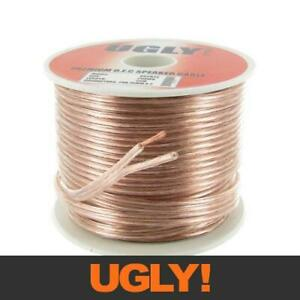 25m 20AWG UGLY Speaker Cable OFC 20 Gauge AWG 28x0.15mm Strand