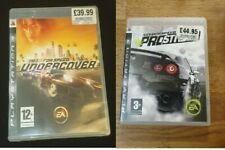 Need for Speed: Undercover + Need for Speed Prostreet Sony Playstation 3 PS3 - C