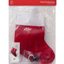 2L Christmas Wine Stocking Bag Tap Dispenser Gift Festive Party Decoration Xmas