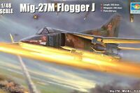 Trumpeter 1:48 MiG-27M Flogger J Aircraft Model Kit