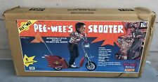 New 1988 Pee Wee's Herman Scooter Ride-on Matchbox Toy Sealed Never Opened