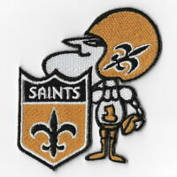 New Orleans Saints (f) Iron on Patch Embroidered Football Patches