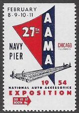 USA Cinderella: National Auto Accessories Expo, NavyPier Chicago, 1954- dw885.28