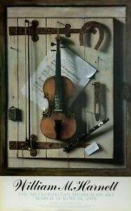 NEW William M Harnett STILL LIFE VIOLIN and MUSIC Poster Metropolitan Museum Art