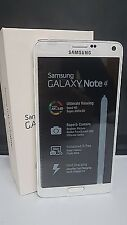 SAMSUNG GALAXY NOTE 4 N910F 3G 4G LTE SIM FREE UNLOCKED SMART MOBILE PHONE WHITE