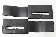 82-92 Camaro/Firebird Seat Belt Headliner Upper Trim Black Pair New Reproduction