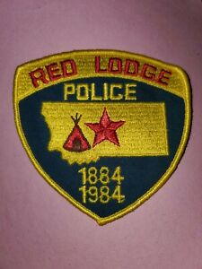 Red Lodge Montana Police Patch