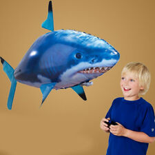 Flying Air RC Shark  Remote Control Toy Clown Fish Balloons Inflatable With Heli