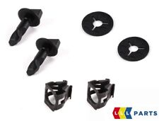 NEW GENUINE AUDI VOLKSWAGEN REAR BUMPER TOW COVER CLIPS TURN PIN CLAMP SET