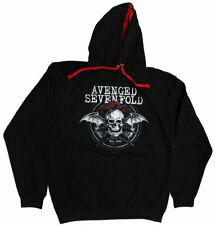 New Never Worn Avenged Sevenfold Black Hoodie Size Medium