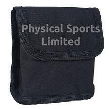 Small Belt Pouch in Black Nylon