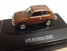 467-8012 H0 1:87 1975 Honda Civic - metallic Bronze