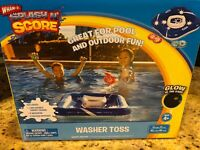Wham O Splash N' Score Washer Toss Inflatable Pool/Lawn Game Brand New