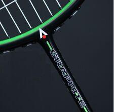 New Karakal Black Zone 20 Badminton Racket 82 Grams Lightweight Graphite + Cover