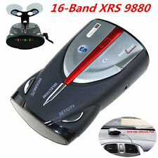 16-Band Auto Car Radar Detectors Cobra XRS 9880 360° Laser Anti Radar Detectors