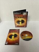 NICE DISC! The Incredibles - Playstation 2 PS2 Game Complete CIB Black Label
