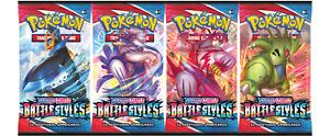 Pokemon TCG Sword & Shield Battle Styles Single Cards - Common / Uncommon / Rare
