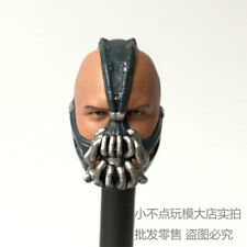 Custom 1/6 Scale Tom Hardy Head Sculpt For TDKR Bane Bash fit Hot Toys Body