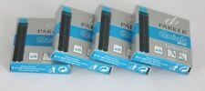 Parker Quink Mini Ink Cartridges TURQUOISE x 24