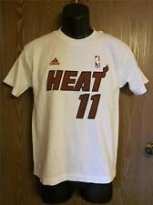 Nuevo con / Minor Defectos Miami Heat #11 Youth M Adidas Camisa 36HG