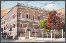 PARMA SALSOMAGGIORE TERME 129 HOTEL ALBERGO Cartolina viaggiata 1932
