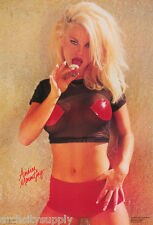 LOT OF 2 POSTERS : STRAWBERRIES & CREAM - SEXY FEMALE MODEL #3121 LC17 i