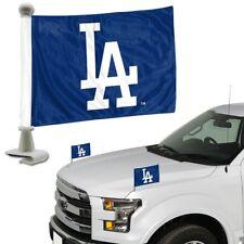 MLB Los Angeles Dodgers Team Ambassador Hood / Trunk Flag - 2set *New