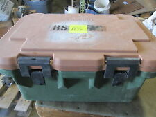 "Used Cambro Military Food Container Cooler  26x18x13"" OD Nice SC"