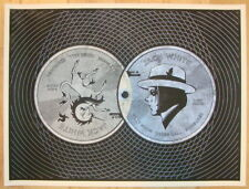 2012 Jack White - Edinburgh Silkscreen Concert Poster AP by DKNG