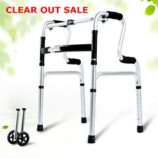New Lightweight High-grade Aluminum folding health Walker Mobility Walking Frame