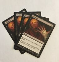 Magic the Gathering - Disfigure x 4 MTG Zendikar PLAYSET