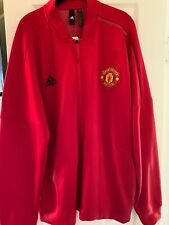 manchester united adidas jacket xxl new red