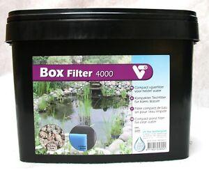Velda VT Garten Teichfilter Außenfilter Durchlauffilter Box Filter 2 versch. Gr.
