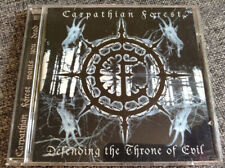 CARPATHIAN FOREST ‎Defending The Throne Of Evil CD