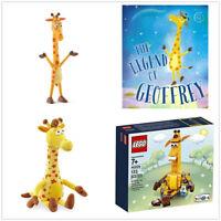 Schleich Geoffrey Giraffe Plush Stuffed Lego 40228 Art Book Toys R Us Exclusive