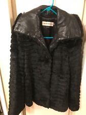 emporio armani fur jacket size 42
