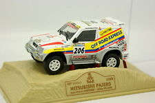 Norev Press Paris Dakar 1/43 - Mitsubishi Pajero 1998